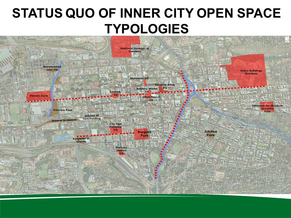 STATUS QUO OF INNER CITY OPEN SPACE TYPOLOGIES