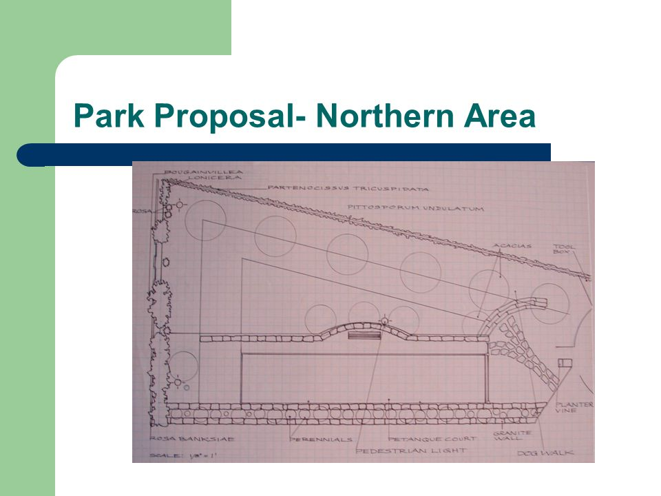 Park Proposal- Northern Area