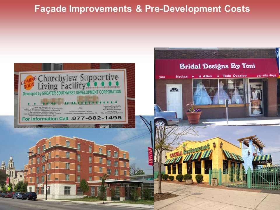 Façade Improvements & Pre-Development Costs