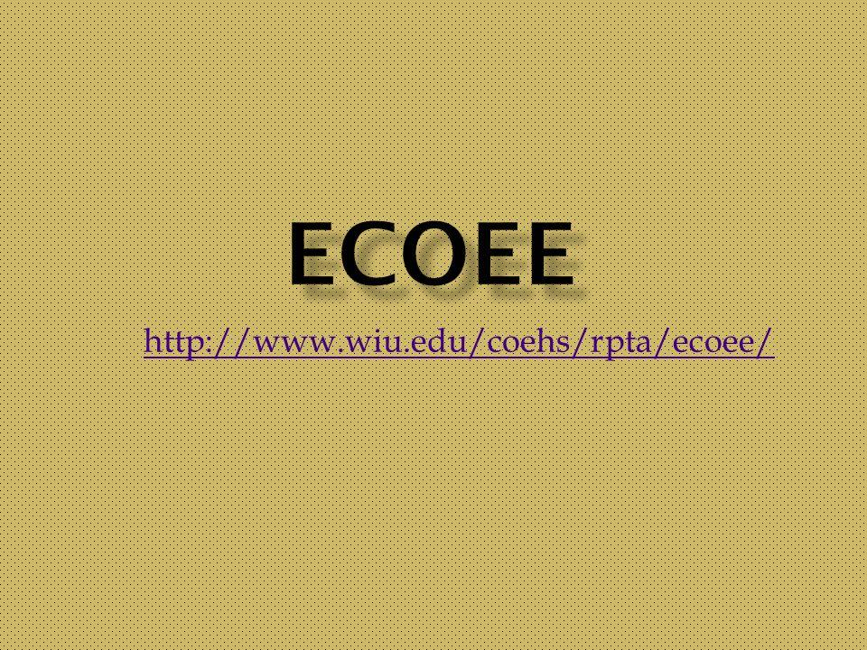 http://www.wiu.edu/coehs/rpta/ecoee/