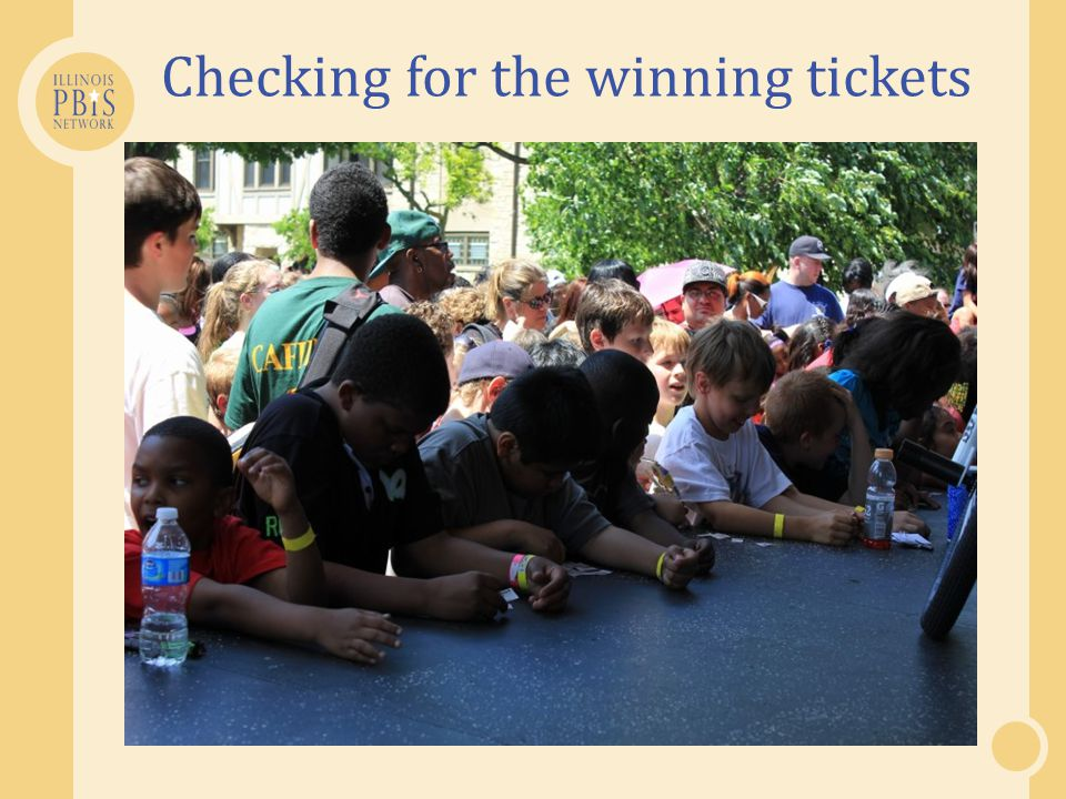 Checking for the winning tickets