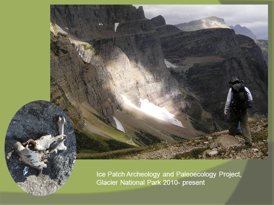 Ice Patch Archeology and Paleoecology Project, Glacier National Park 2010- present