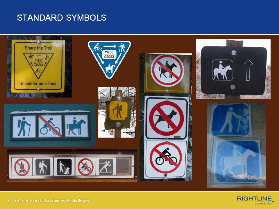 STANDARD SYMBOLS
