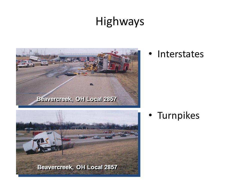 Highways Interstates Turnpikes Beavercreek, OH Local 2857