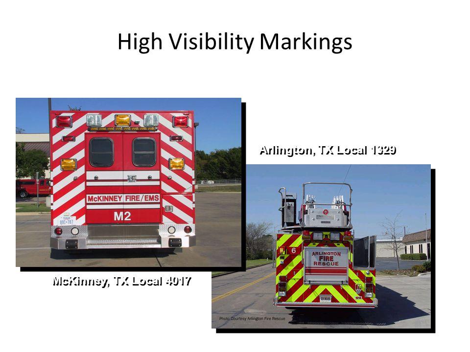 High Visibility Markings McKinney, TX Local 4017 Arlington, TX Local 1329