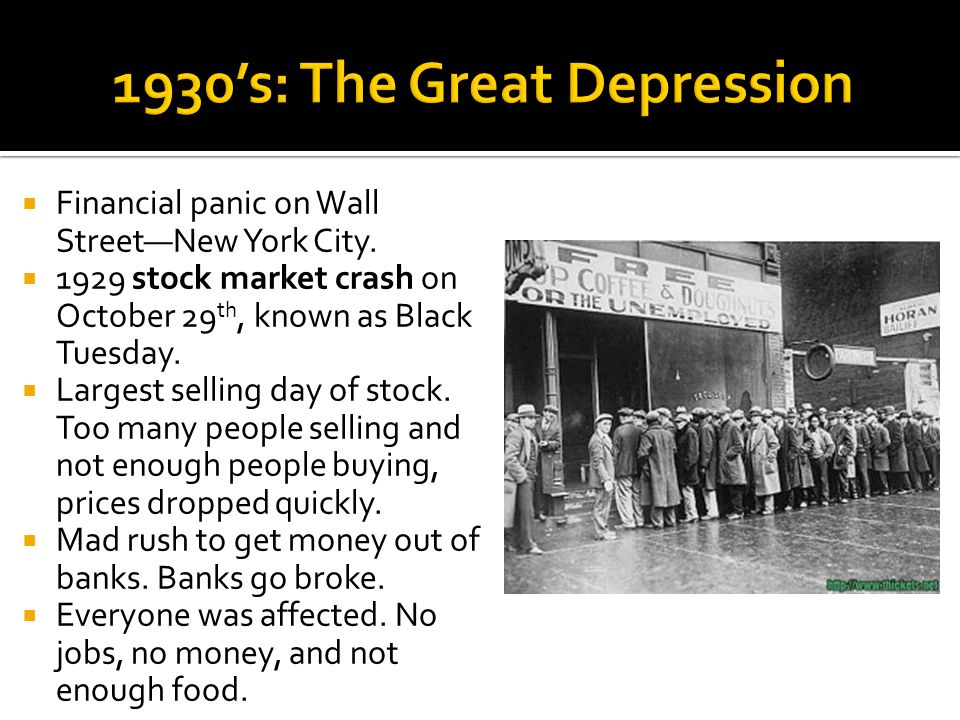 Financial panic on Wall StreetNew York City.