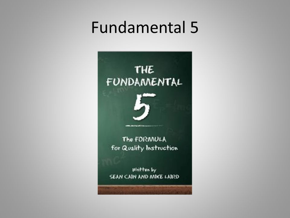 Fundamental 5