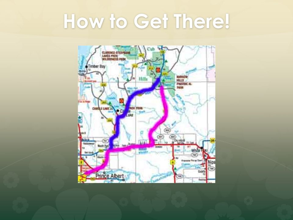 How to Get There!