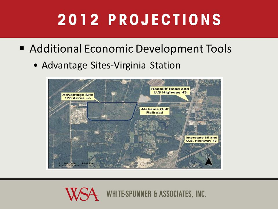 Additional Economic Development Tools Advantage Sites-Virginia Station Additional Economic Development Tools Advantage Sites-Virginia Station