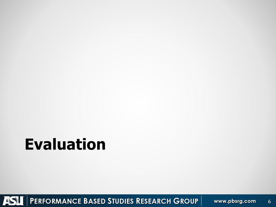 Evaluation 6