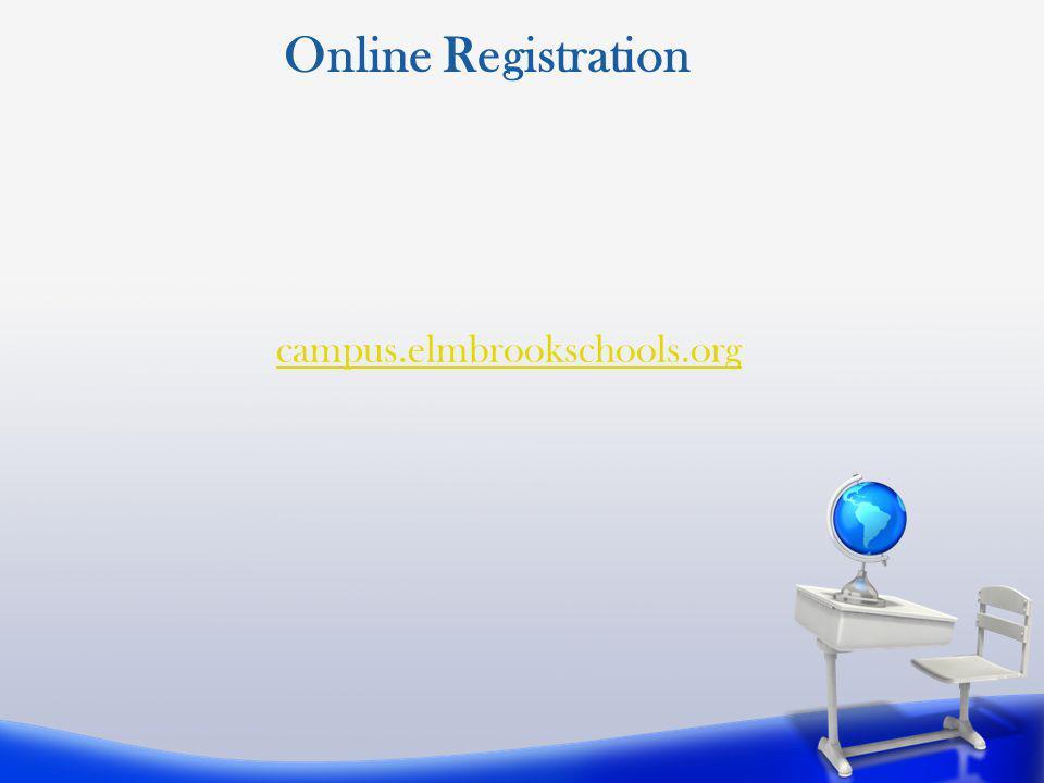 Online Registration campus.elmbrookschools.org