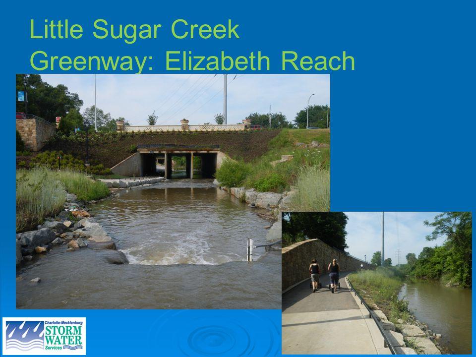 Site photos Little Sugar Creek Greenway: Elizabeth Reach