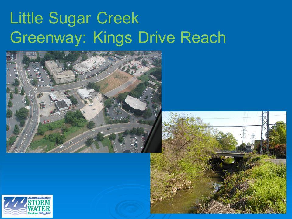 Site photos Little Sugar Creek Greenway: Kings Drive Reach