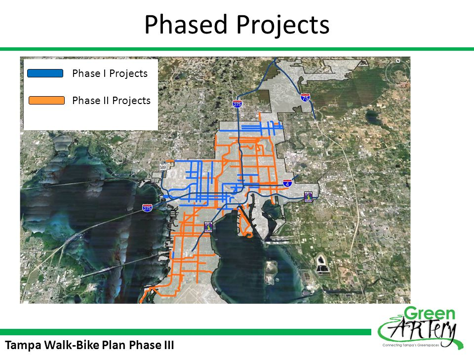 Tampa Walk-Bike Plan Phase III Polling Questions Several additional loops are proposed for incorporation in the Trail.