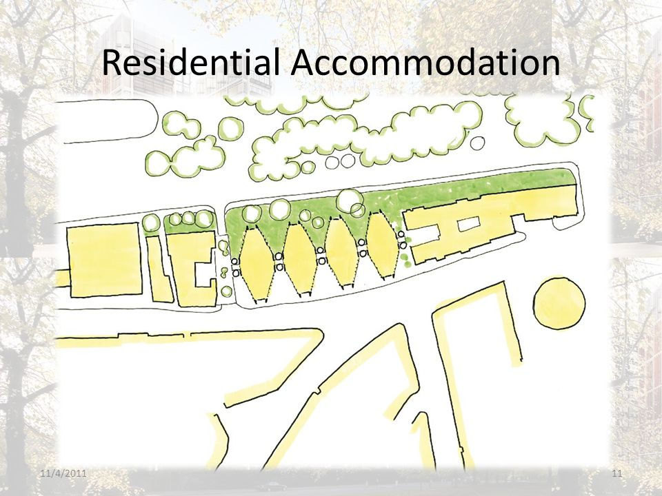 Residential Accommodation 11/4/201111