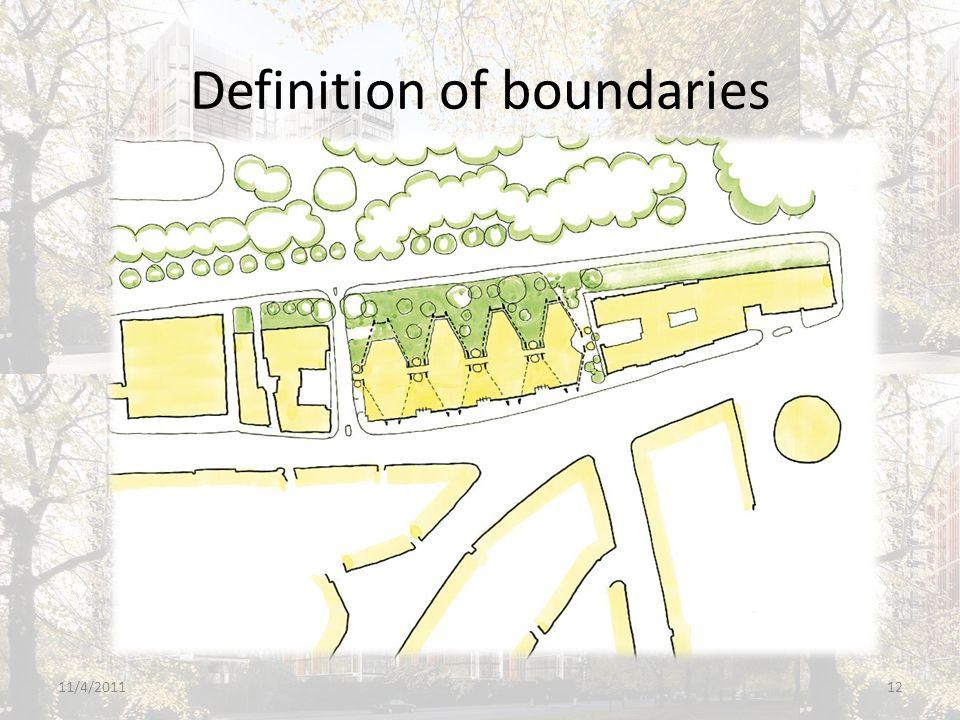 Definition of boundaries 11/4/201112
