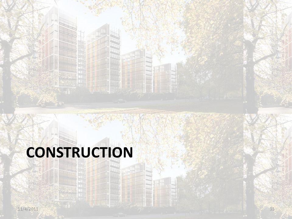 CONSTRUCTION 11/4/201135