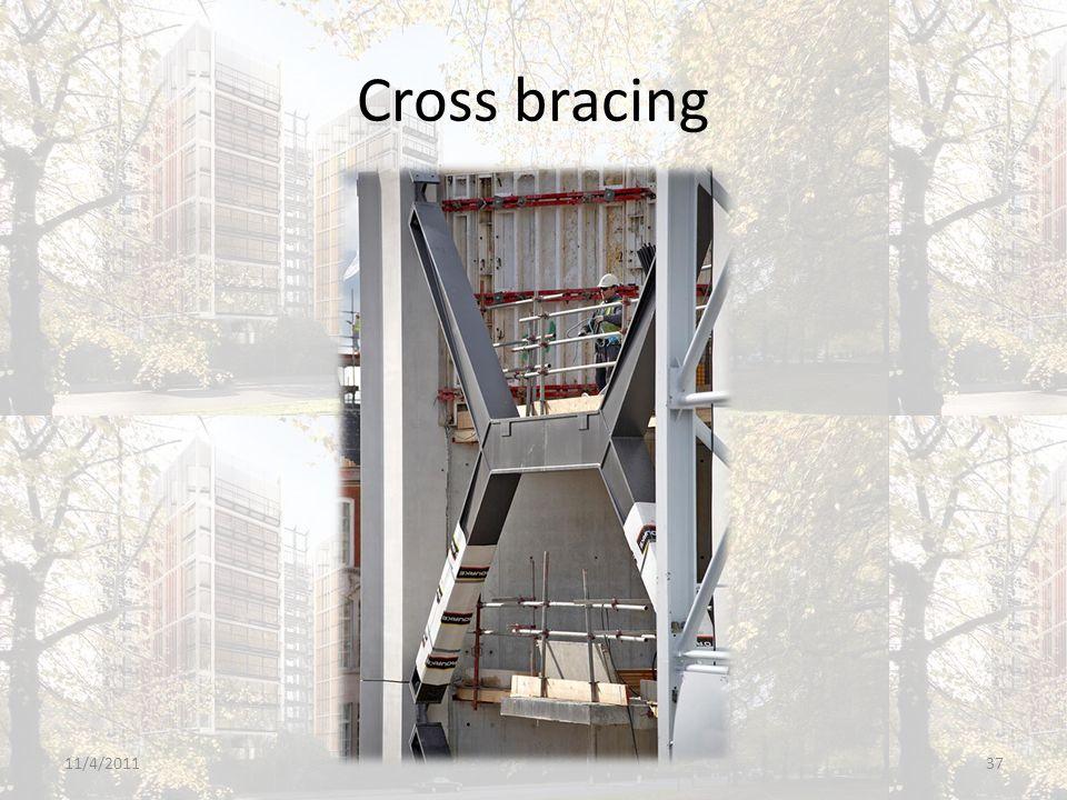 Cross bracing 11/4/201137