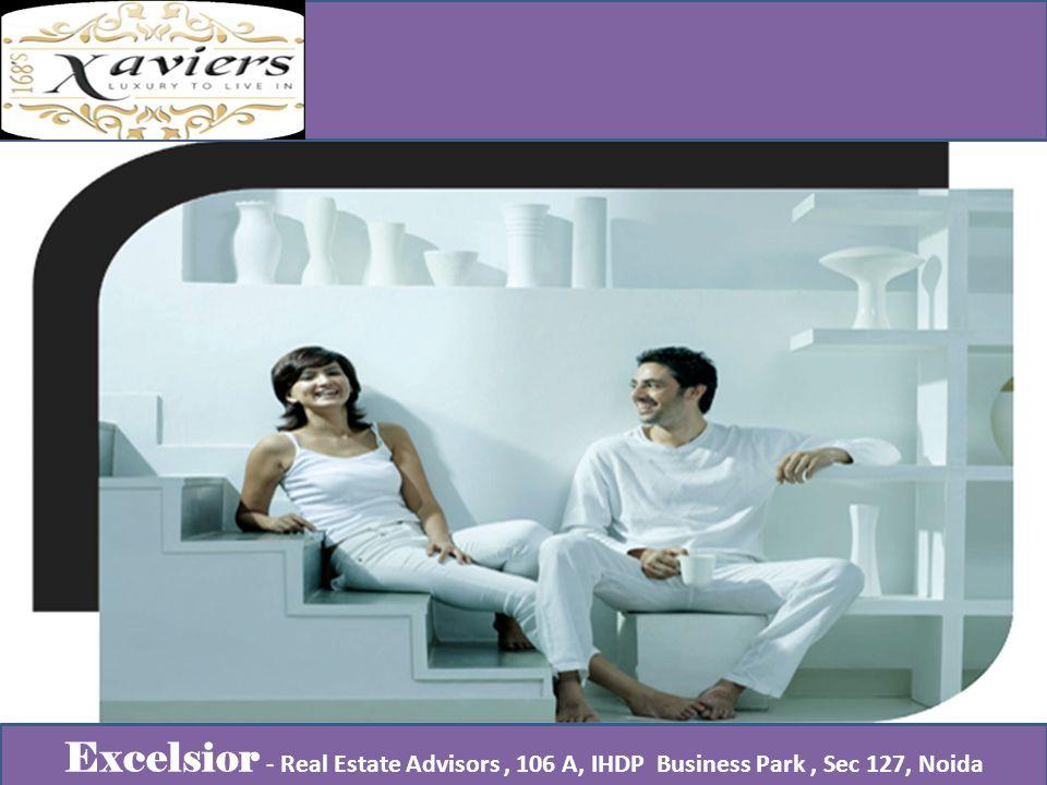 Location MAP Excelsior - Real Estate Advisors, 106 A, IHDP Business Park, Sec 127, Noida