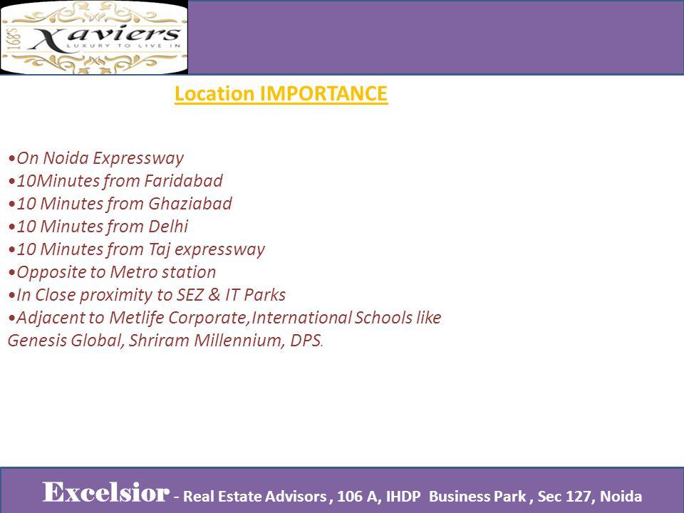 Studio No.106 A, IHDP Business Park Plot No.7, Sector 127, Taj Expressway.