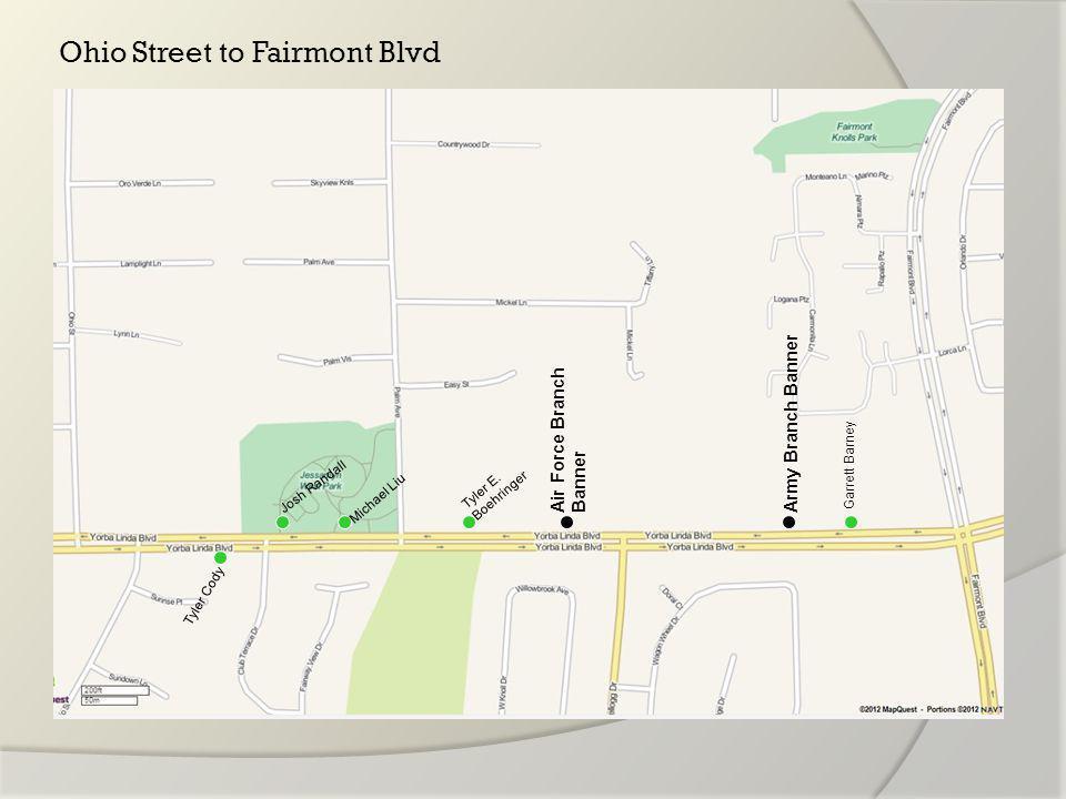 Fairmont Blvd to Village Center Drive Zachary J.
