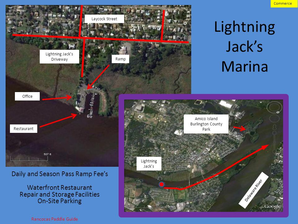 Lightning Jacks Marina 26 Laycock Street Lightning Jacks Driveway Daily and Season Pass Ramp Fees Waterfront Restaurant Repair and Storage Facilities