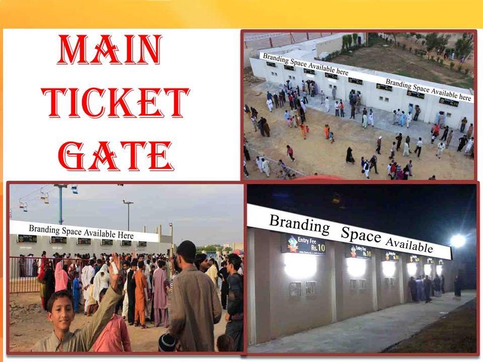 Main Ticket Gate
