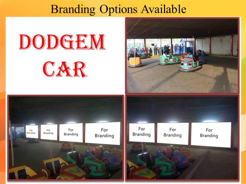 Branding Options Available Dodgem Car