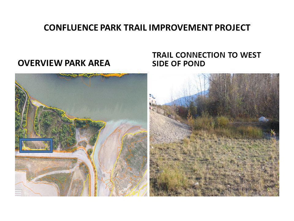 OVERVIEW PARK AREA TRAIL CONNECTION TO WEST SIDE OF POND