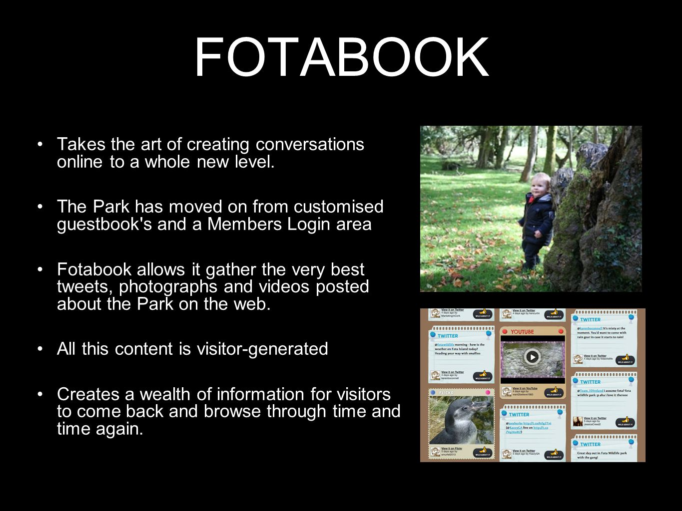 FOTABOOK Takes the art of creating conversations online to a whole new level.