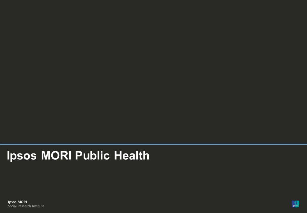 © Ipsos MORI Ipsos MORI Public Health