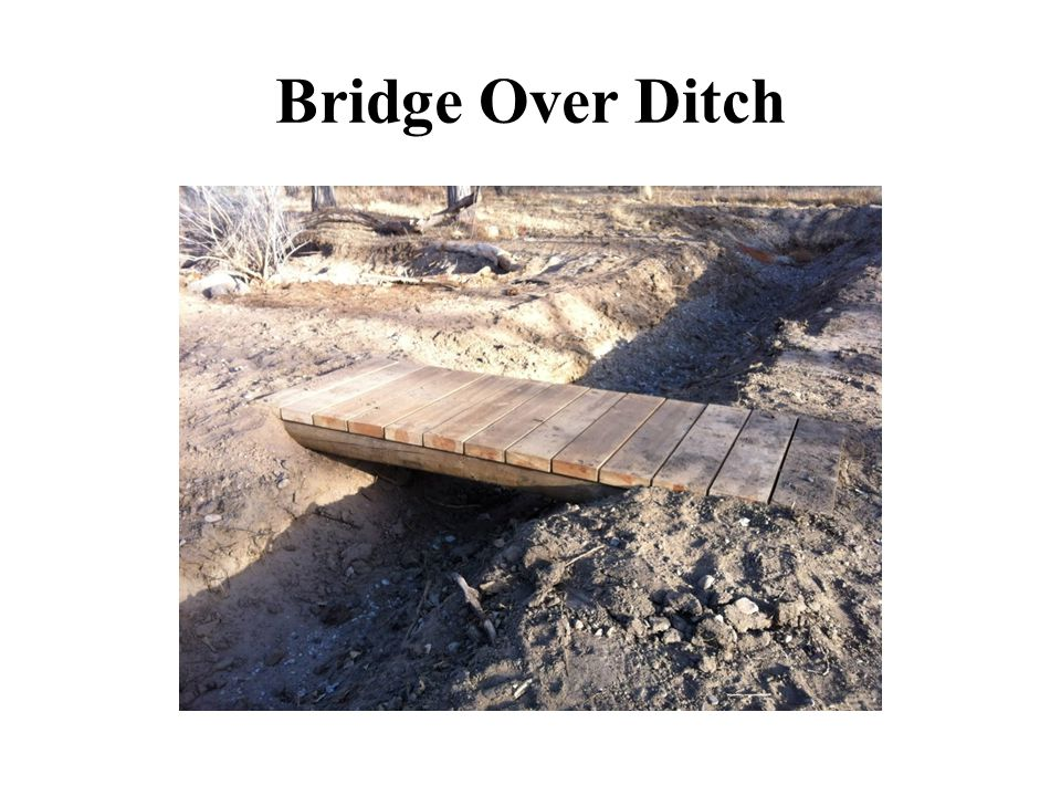 Bridge Over Ditch