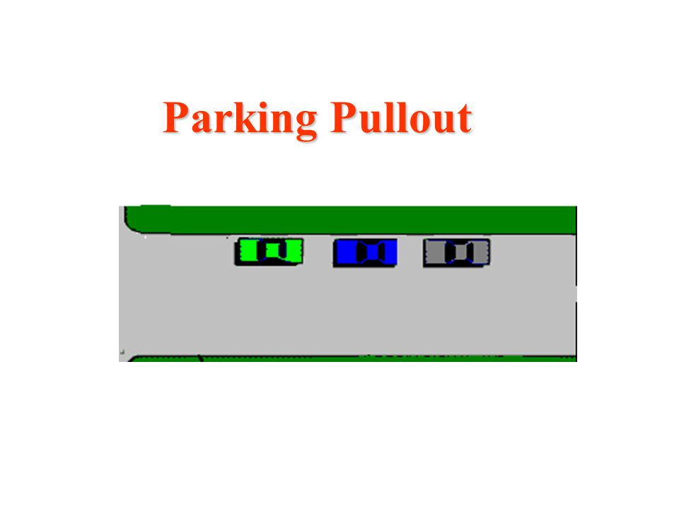Parking Pullout