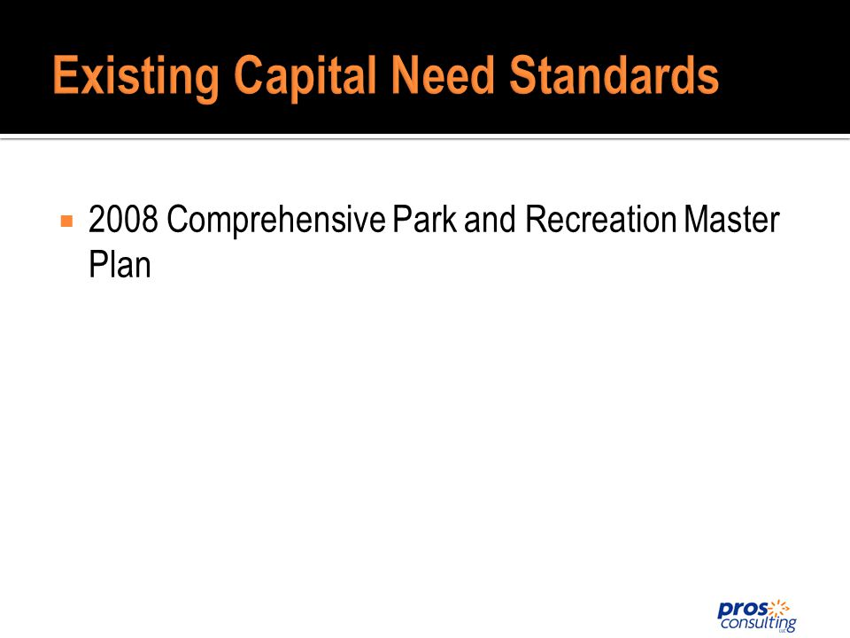 2008 Comprehensive Park and Recreation Master Plan