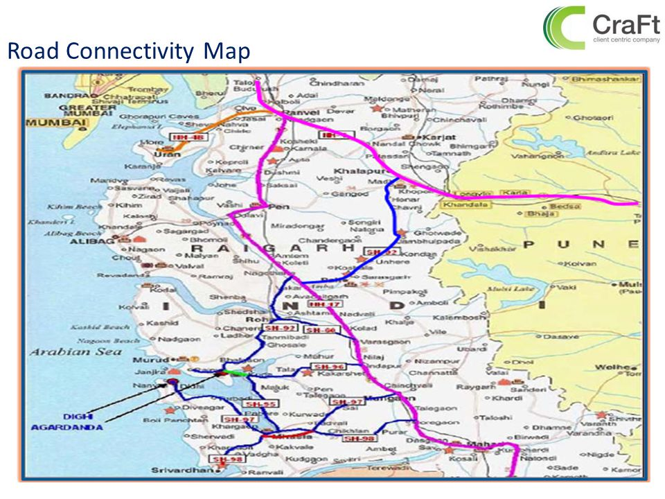 Road Connectivity Map 15