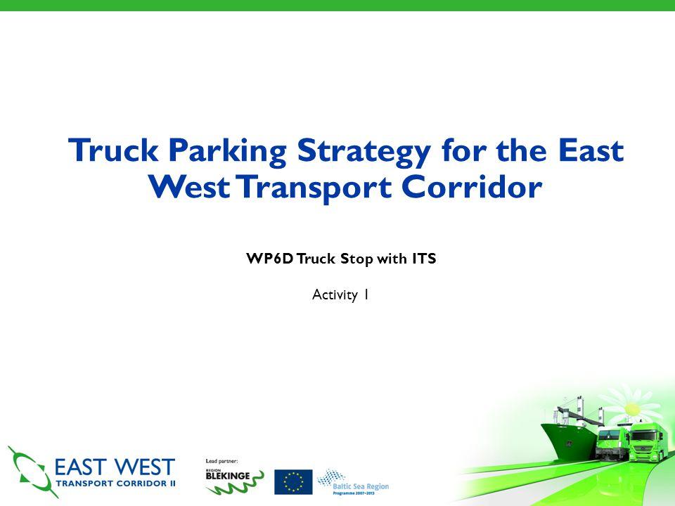 East West Transport Corridor