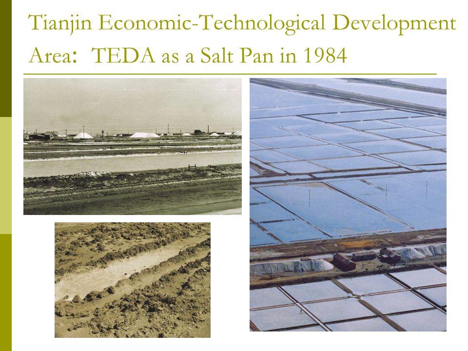 Tianjin Economic-Technological Development Area : TEDA as a Salt Pan in 1984