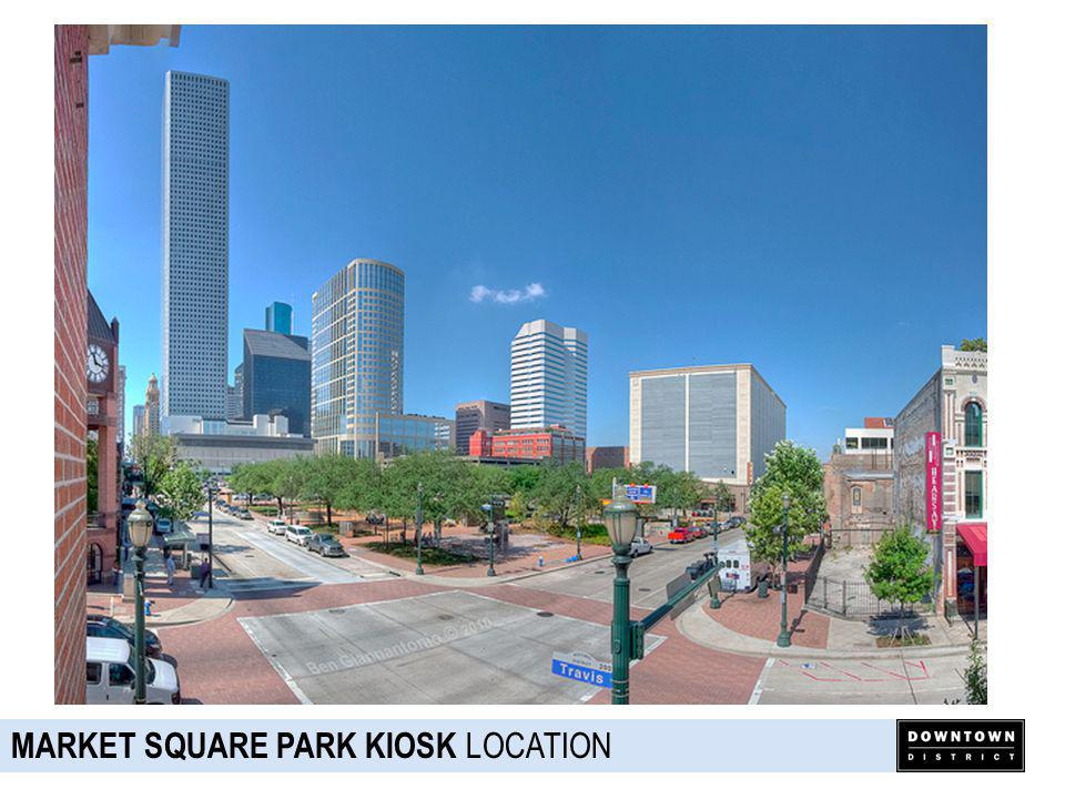 MARKET SQUARE PARK KIOSK OPERATOR/CONCEPT NIKO NIKOS Local, Greek restaurant Breakfast/Coffee, Gyros, Alcohol Dedicated Owner Brand Equity/Strong Following