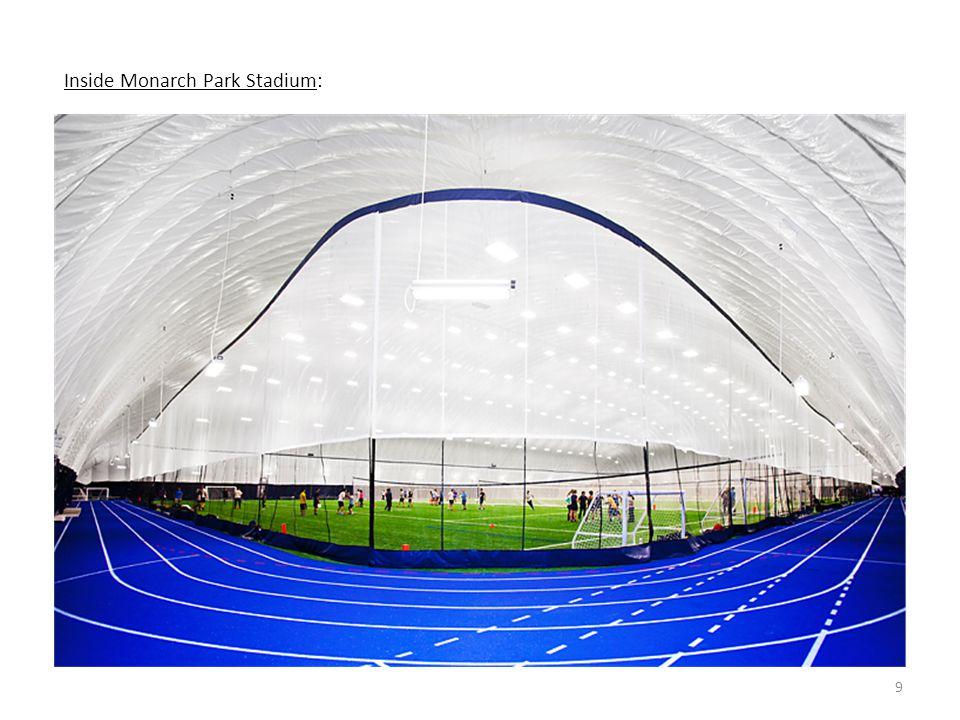 9 Inside Monarch Park Stadium:
