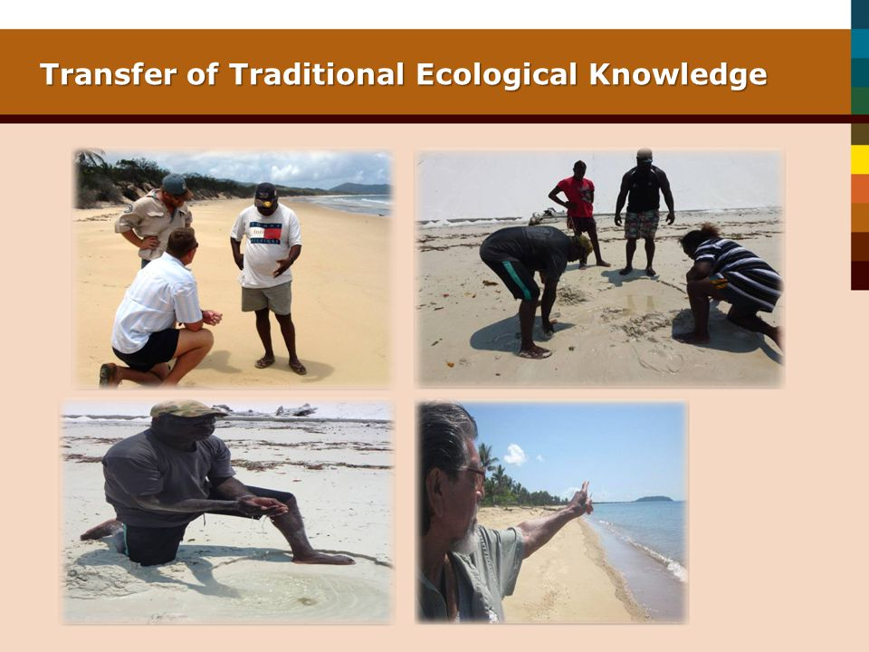 Transfer of Traditional Ecological Knowledge