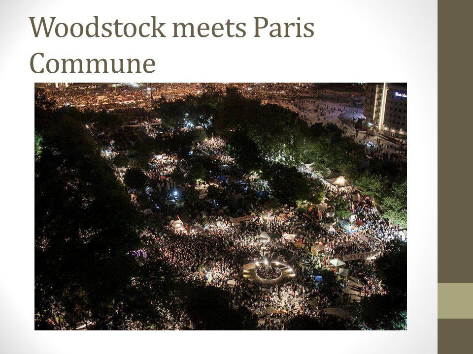 Woodstock meets Paris Commune