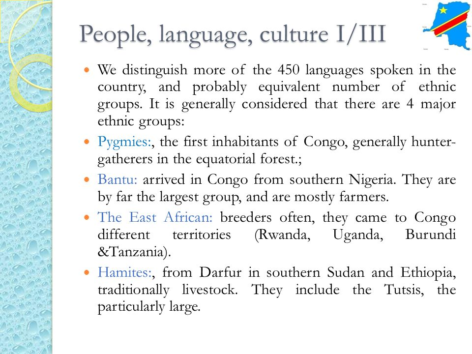 People, language, culture I/III We distinguish more of the 450 languages spoken in the country, and probably equivalent number of ethnic groups. It is