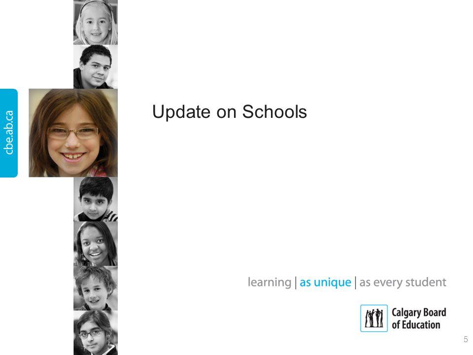 Update on Schools 5