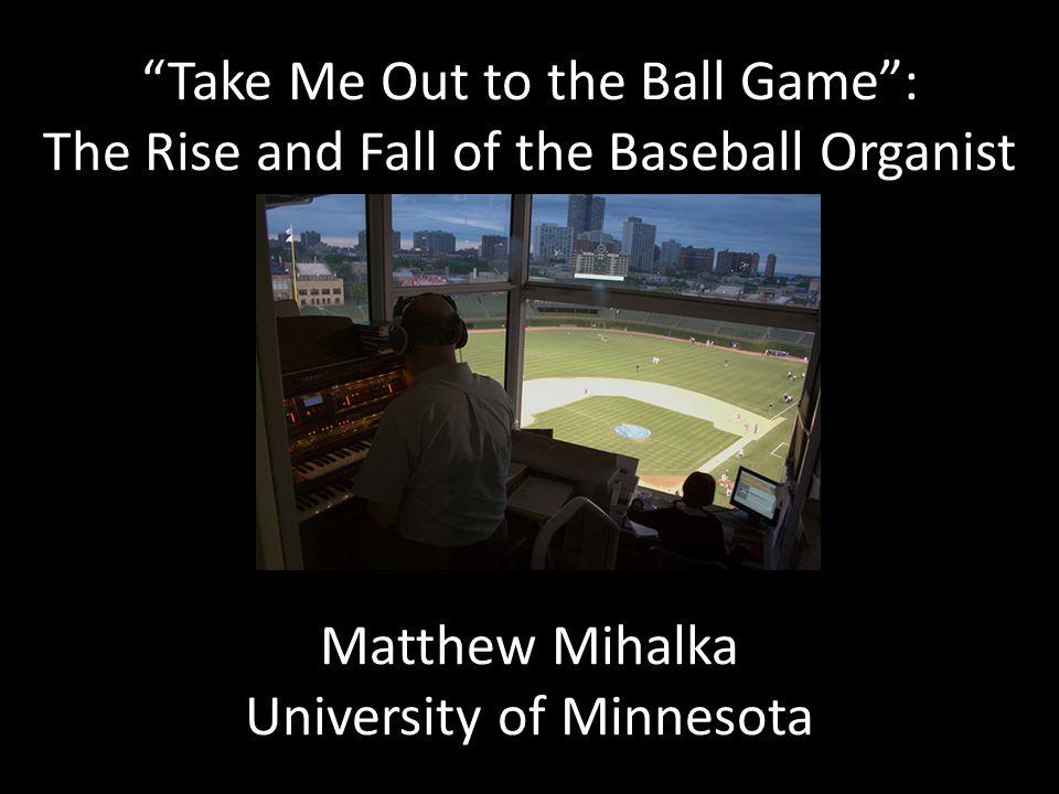 Matthew Kaminski, Braves Organist