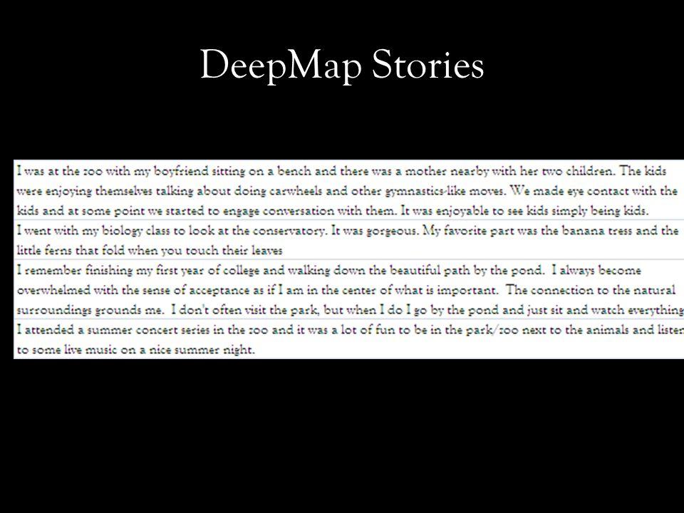 DeepMap Stories
