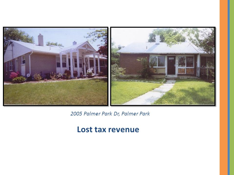 2005 Palmer Park Dr, Palmer Park Lost tax revenue