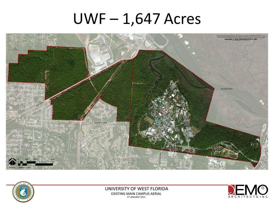 UWF – 1,647 Acres