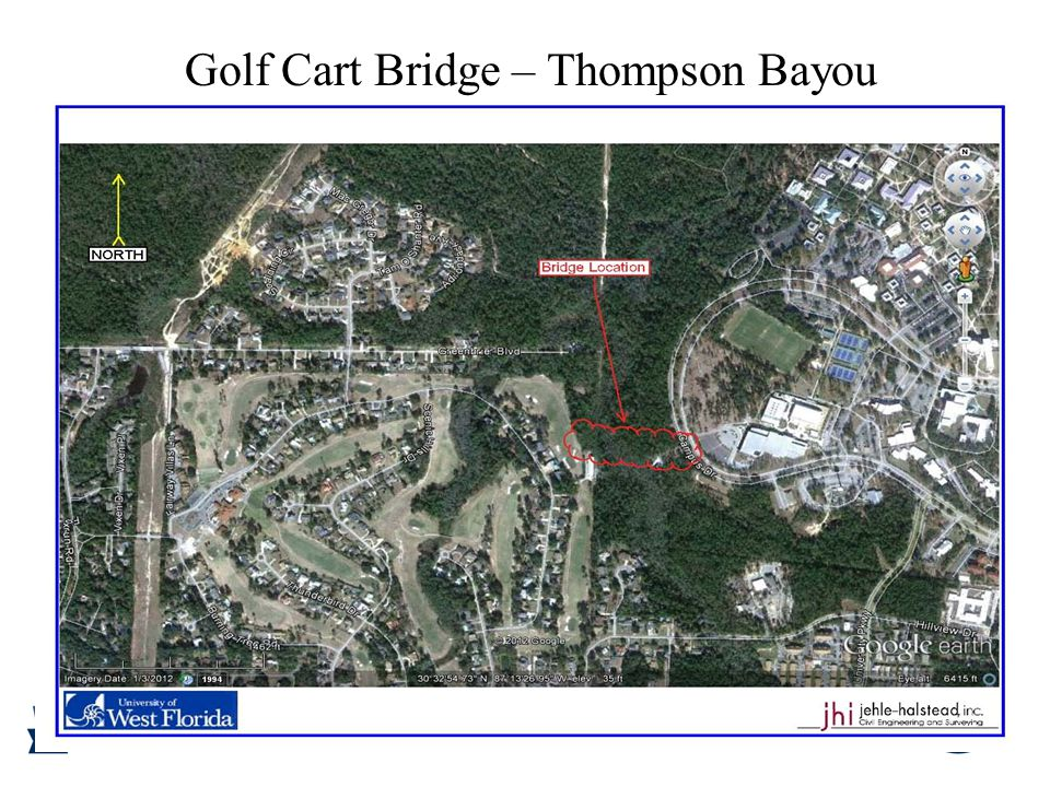 Golf Cart Bridge – Thompson Bayou