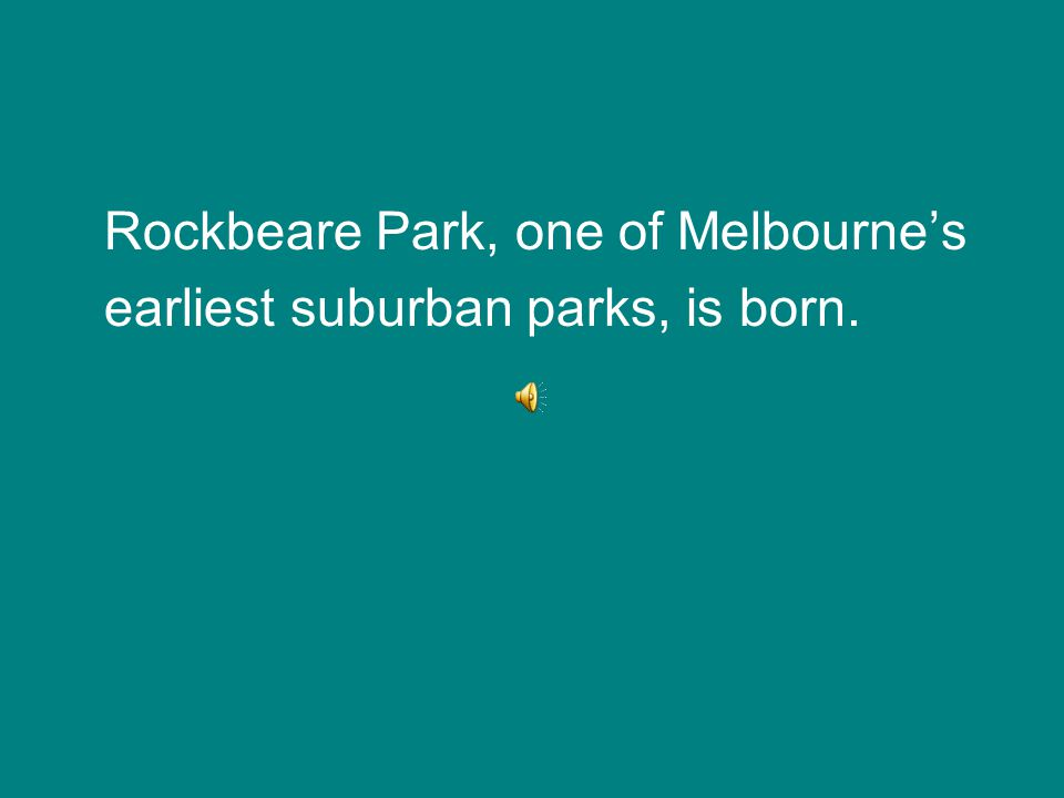 In 1923 Herman Groth purchases Rockbeare Park. After failed development bids he sells it six years later for £2,000 to the president, councillors and