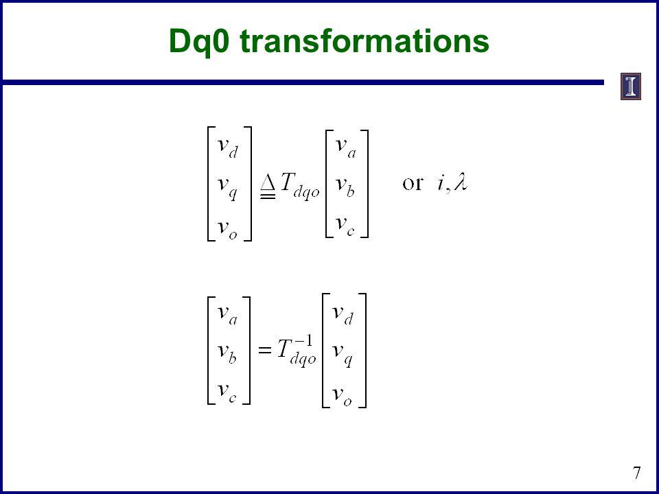 7 Dq0 transformations
